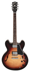 Gibson ES 335 Dot Figured Gloss Tri Burst