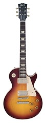 Pre-Owned Gibson Custom Shop 1958 Les Paul Plain Top Vos Bourbon Burst 2010