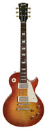 Pre-Owned Gibson Custom Shop 1958 Chambered Les Paul Figured Top Sunrise Tea