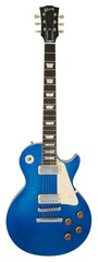 Pre-Owned Gibson Custom Shop 1957 Les Paul Reissue Blue Sparkle with Mini Humbuckers