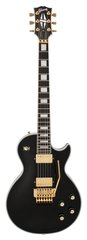 Pre-Owned Gibson Custom Shop Les Paul Custom Axcess Ebony with Floyd Rose