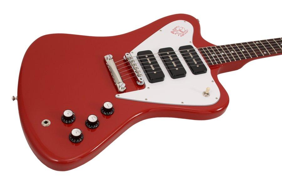 gibson custom shop electric guitar firebird non reverse 3 p90s cardinal red rainbow guitars. Black Bedroom Furniture Sets. Home Design Ideas