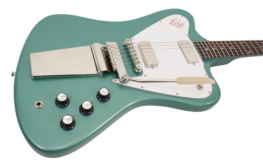 gibson custom shop electric guitar firebird v non reverse inverness green rainbow guitars. Black Bedroom Furniture Sets. Home Design Ideas
