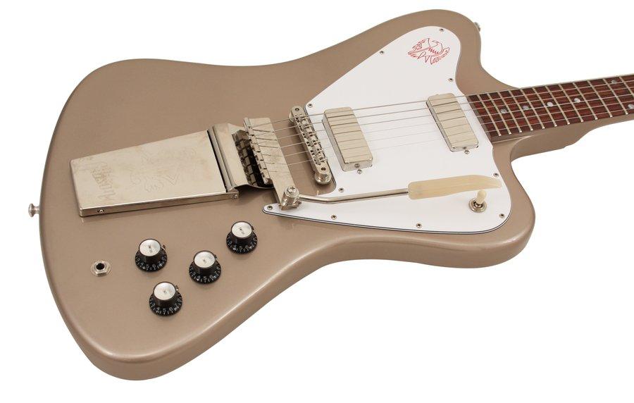 gibson custom shop electric guitar firebird v non reverse gold mist rainbow guitars. Black Bedroom Furniture Sets. Home Design Ideas