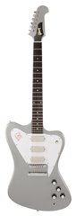 Gibson Custom Shop Firebird Non Reverse 3 Mini Humbuckers Poly Mist Silver