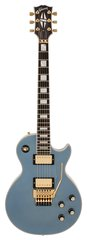 Pre-Owned Gibson Custom Shop Les Paul Custom Axcess Pelham Blue
