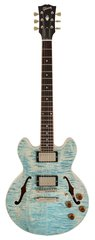 Gibson Custom Shop CS 336 Figured Trans Frost Blue