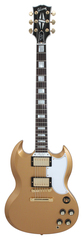 Gibson Custom Shop SG Custom 2 Pickup All Gold