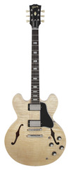 Pre-Owned Gibson Custom Shop Benchmark Collection 2013 Limited Run 1963 ES-335 Figured Antique Natural
