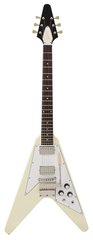 Gibson Custom Shop 1967 Flying V With Maestro Classic White