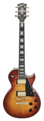 Pre-Owned Gibson Custom Shop 2014 Limited Run Les Paul Custom Orange Tigerburst