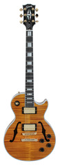 Gibson Custom Shop Limited Run Les Paul Florentine Figured Trans Amber