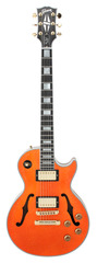 Gibson Custom Shop Limited Run Les Paul Florentine Orange Sparkle