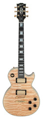 Gibson Custom Shop  Limited Run Les Paul Custom Natural Quilt Top