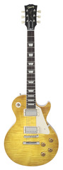 Pre-Owned Gibson Custom Shop Benchmark Collection 2013 Limited Run Hand-Picked Lightly Figured 1958 Les Paul Lemonburst