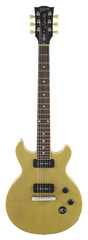 Pre-Owned Gibson Les Paul Special Double Cut Trans Yellow Top 2015