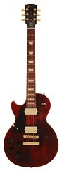 Gibson Les Paul Studio Wine Red Left Handed Gold Parts