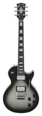 Gibson Custom Shop Les Paul Custom Axcess Silverburst W/ Floyd Rose
