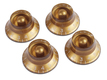 Gibson Top Hat Knobs Gold 4 Pack