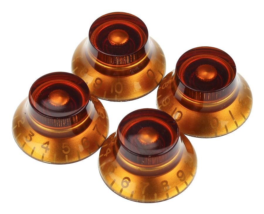 Gibson Top Hat Knobs : gibson top hat knobs vintage amber 4 pack rainbow guitars ~ Hamham.info Haus und Dekorationen