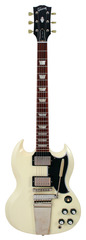 Pre-Owned Gibson Custom Shop 2009 SG Standard Reissue VOS Classic White