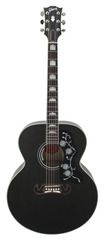 Gibson Limited Edition 2014 SJ-200 Standard Trans Black