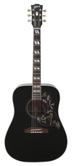Gibson Limited Edition Hummingbird Rare Black Finish 2014