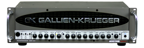 Gallien-Krueger 2001RB<BR>1080 Watt Bass Amplifier
