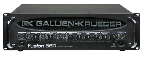 Gallien-Krueger Fusion 550 500+50 Watt Bass Amplifier