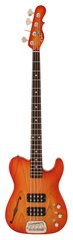 G&L ASAT Bass Semi Hollow Cherryburst