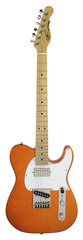 G&L ASAT Classic Blues Boy Tangerine Metallic