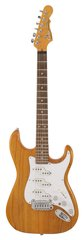 G&L Comanche Semi-Hollow Amber No F-Hole
