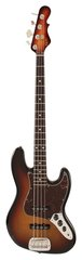 G&L JB-4 Jazz Bass 3-Tone Sunburst