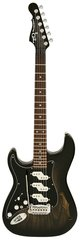 G&L Lefty Comanche Semi-Hollow Blackburst
