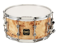 GMS Drums 7x14 Mapa Burl Snare Drum Maple Shell