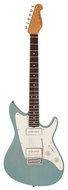 Grosh ElectraJet Custom Trans Sonic Blue Alder