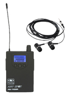 Galaxy AS-1100R Wireless In-Ear Receiver with  Earbuds