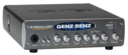 Genz Benz 900 Watt, Lightweight Bass Amp With Class A Tube Preamp