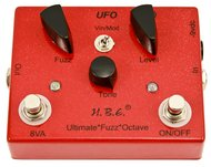 Homebrew UfO Ultimate Fuzz Octave Pedal