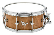 Hendrix Drums Archetype 6x14 Satin Cherry Stave Shell Snare Drum