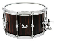 Hendrix Drums 8x14 Solid Stave Ebony Snare