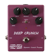 Heptode Deep Crunch Dynamic Distortion Preamp Pedal