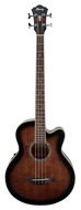 Ibanez AEB10E DVS Dark Vintage Sunburst Acoustic Electric Bass