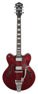 Ibanez Artcore AFD75T Red Sparkle Semi-Hollow Electric Guitar