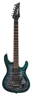 Ibanez Prestige S5570Q Dark Green Doom Burst