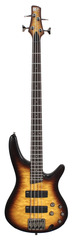 Ibanez SR400QM BBT Standard SR Brown Burst Electric Bass