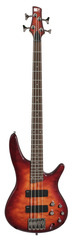 Ibanez SR400QMCNB Electric Bass Charcoal Brown Burst