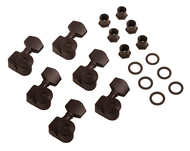 Sperzel 6 In Line Black Locking Tuners