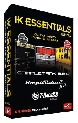 IK Multimedia IK Essentials Software Bundle