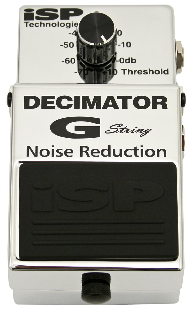 Isp Technologies Decimator G String Noise Reduction Guitar